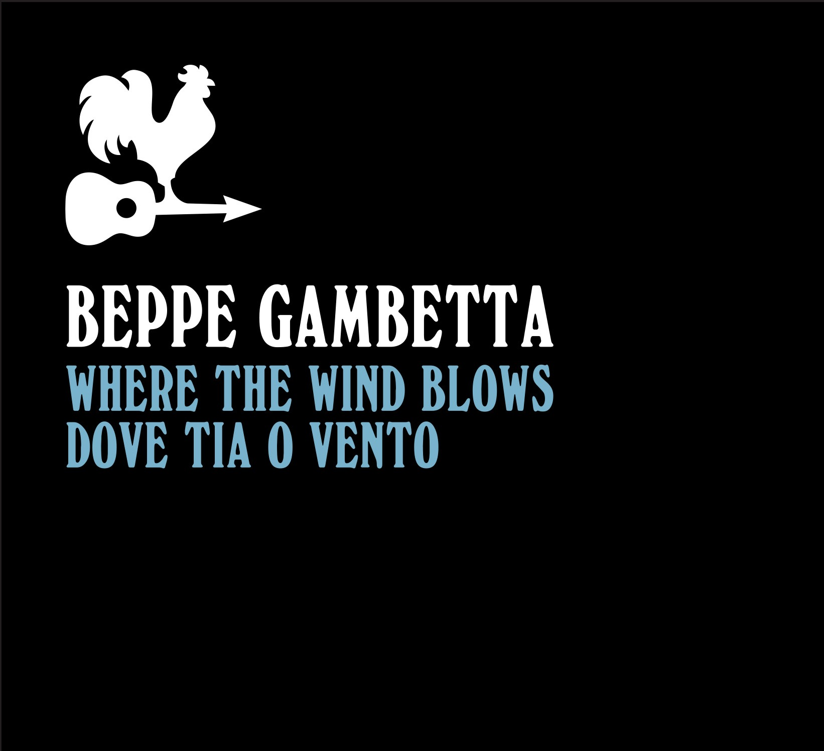 Beppe Gambetta Where The Wind Blows copertina