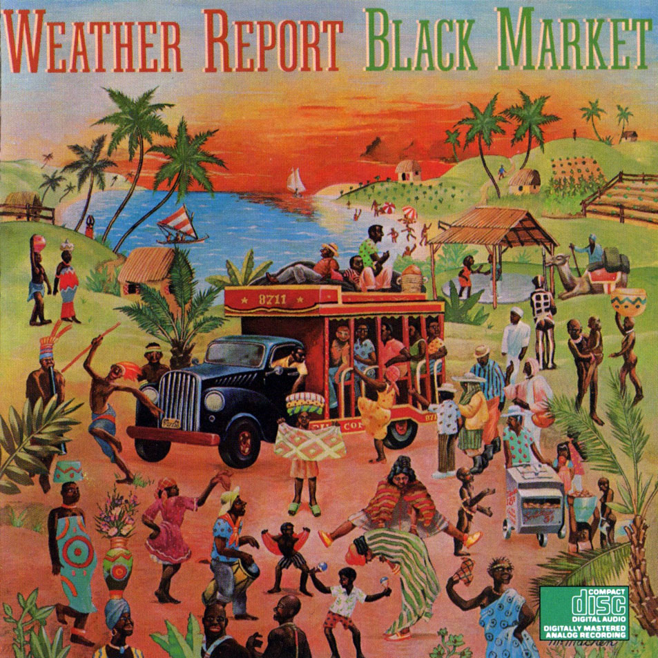 Weather Report-Black Market-Frontal