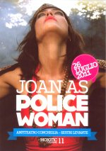 JOAN AS POLICE WOMAN in concerto a Sestri Levante