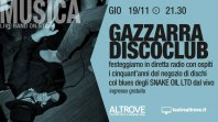 GAZZARRA - DISCO CLUB - All'Altrove